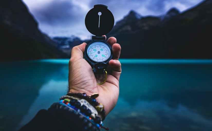 Jesus' compass!